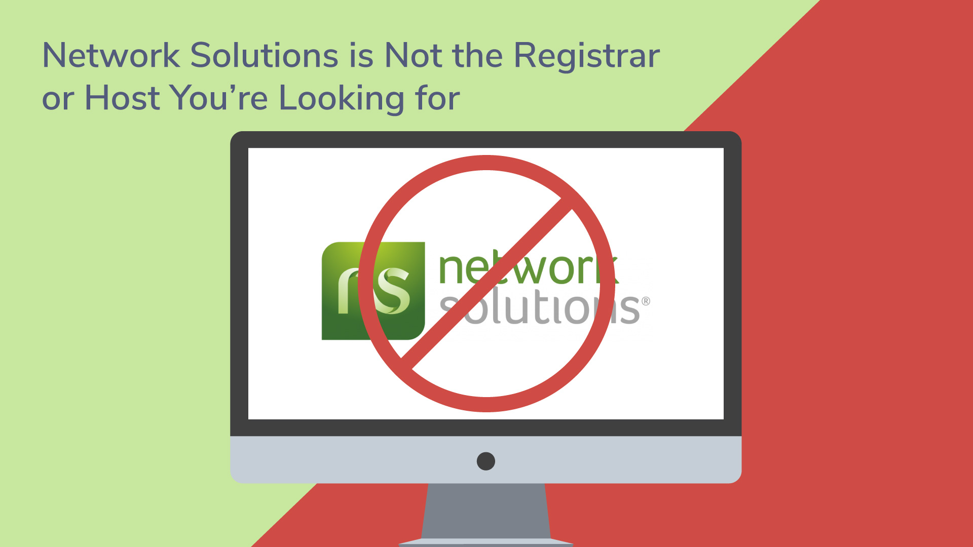 Network solutions is terrible avoid them