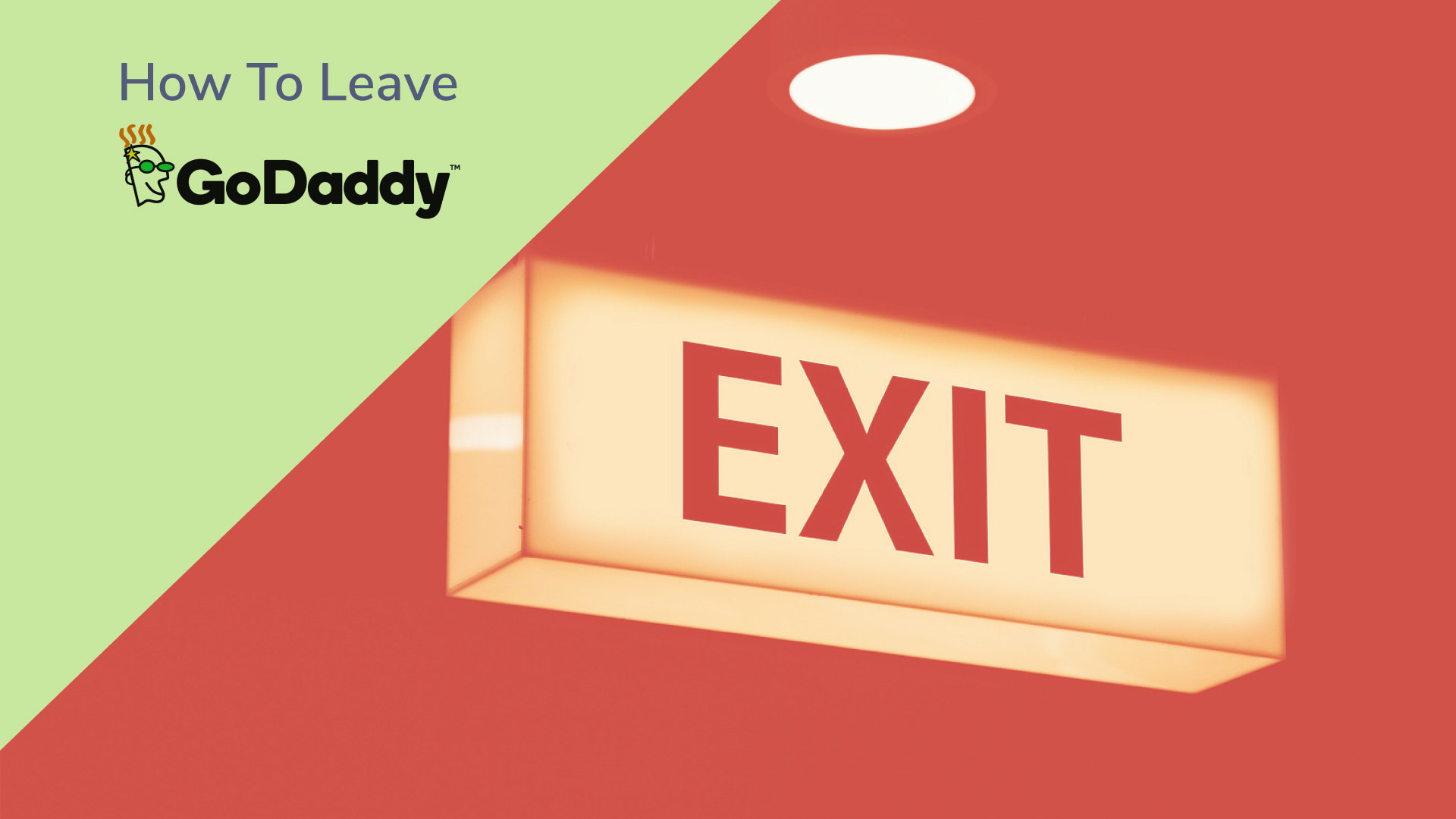 Godaddy terrible time to leave