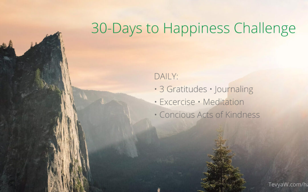 Join Me in a 30-Day Happiness Challenge