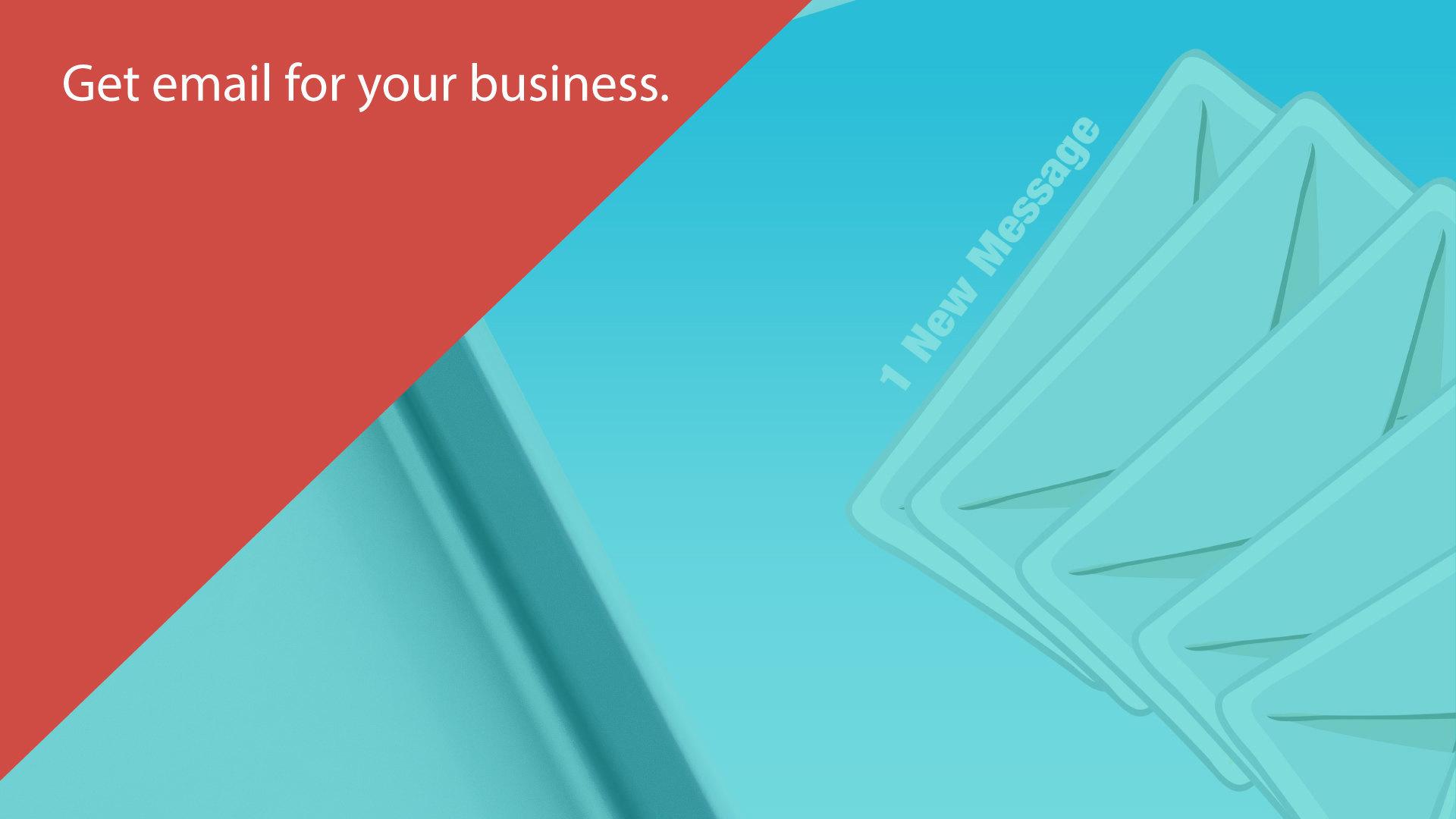 How do i create a business email