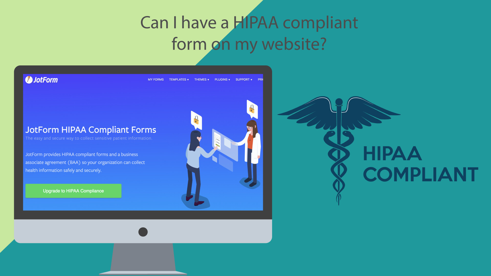 Can i have a hipaa compliant form