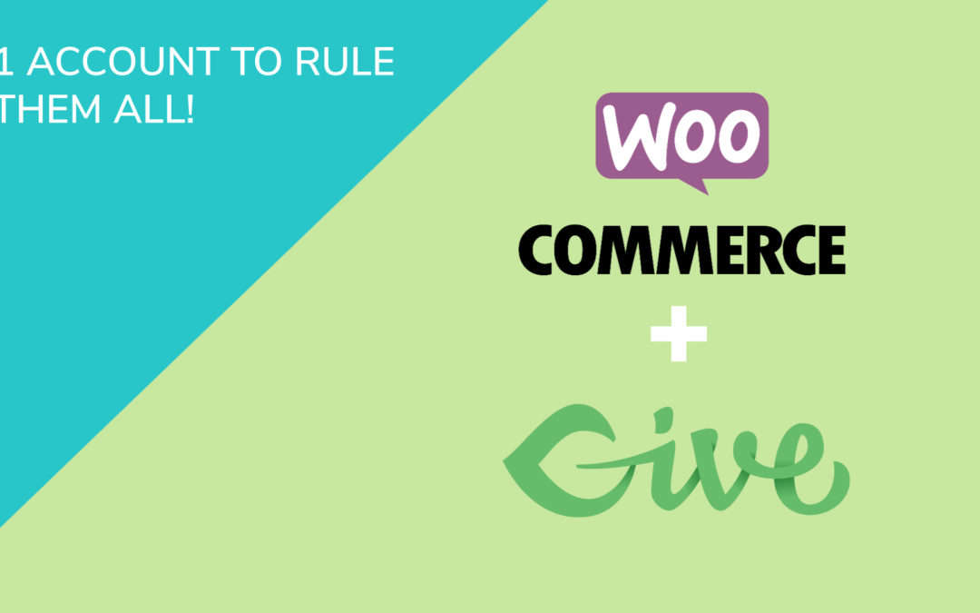 One Account Page for Give Donations & WooCommerce… to Rule Them All!