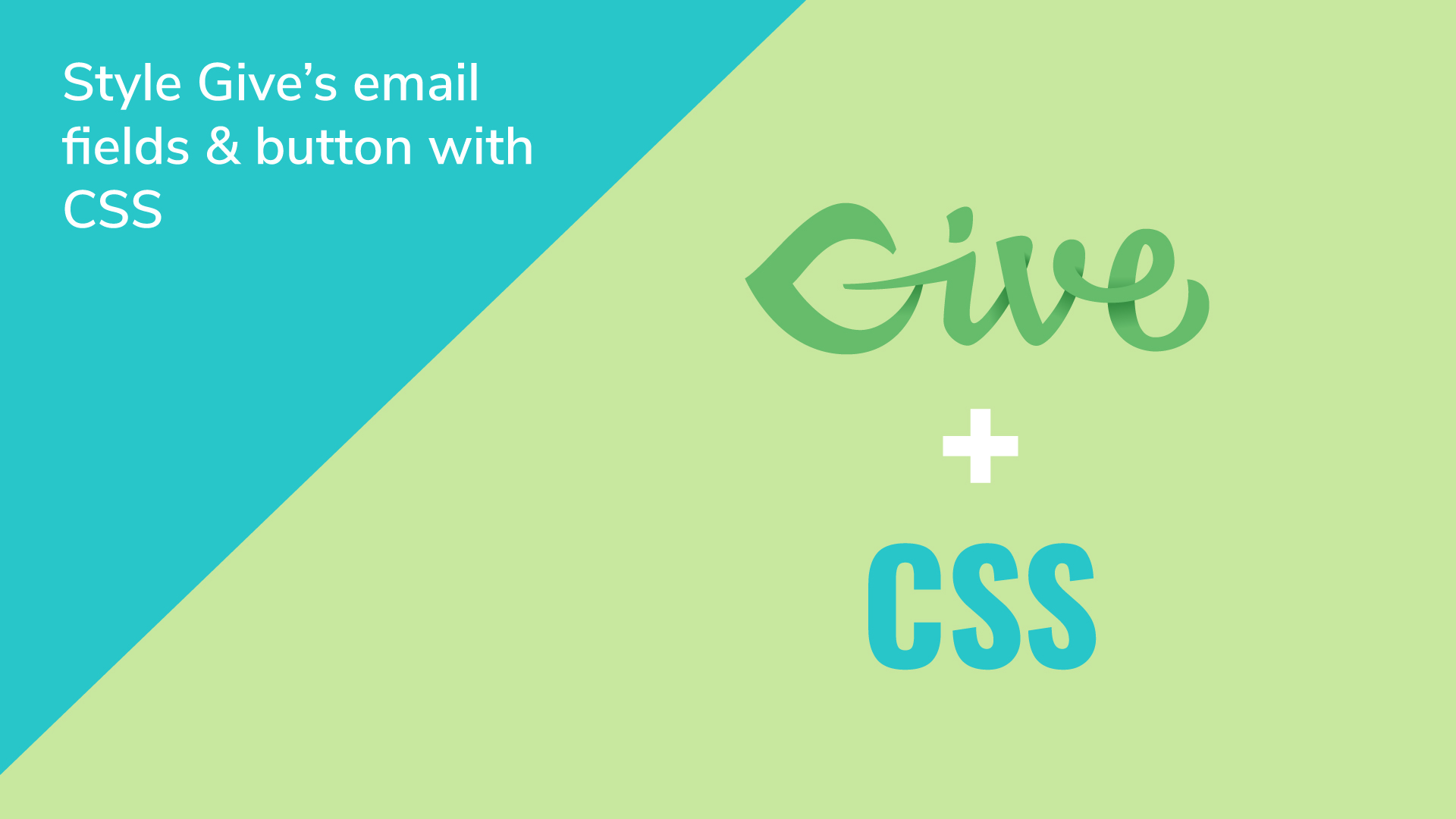 How to style give wps email access token fields and buttons