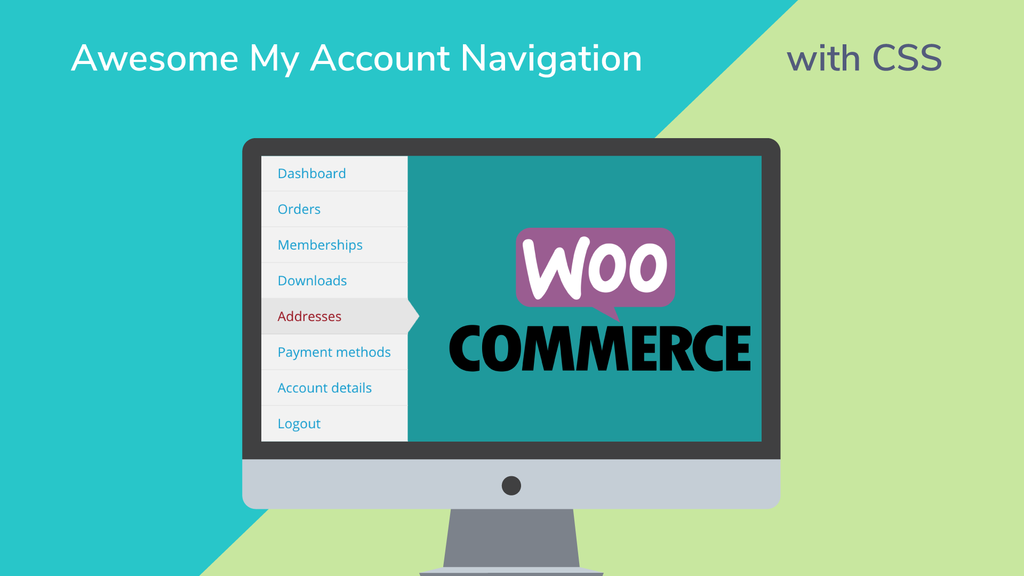 Woocommerce my account navigation css