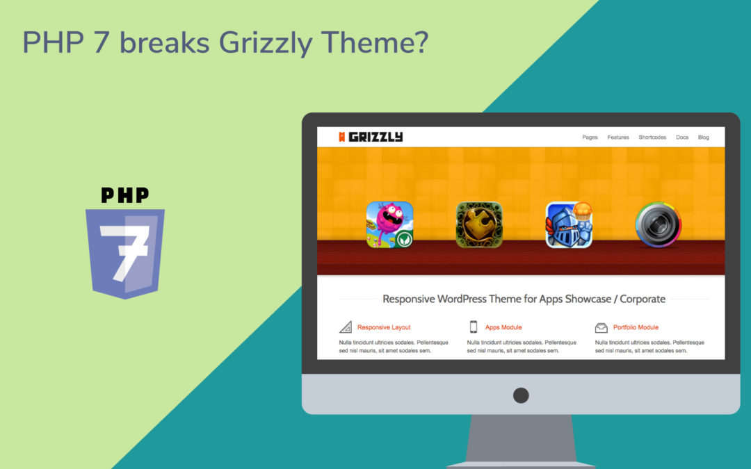 "How to Fix the ThemeForest WordPress Theme ""Grizzly"" to Work with PHP 7"
