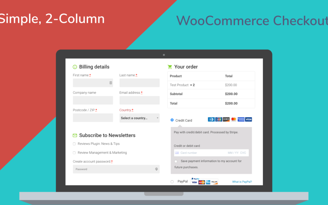 Creating a Simpler Checkout Page in WooCommerce