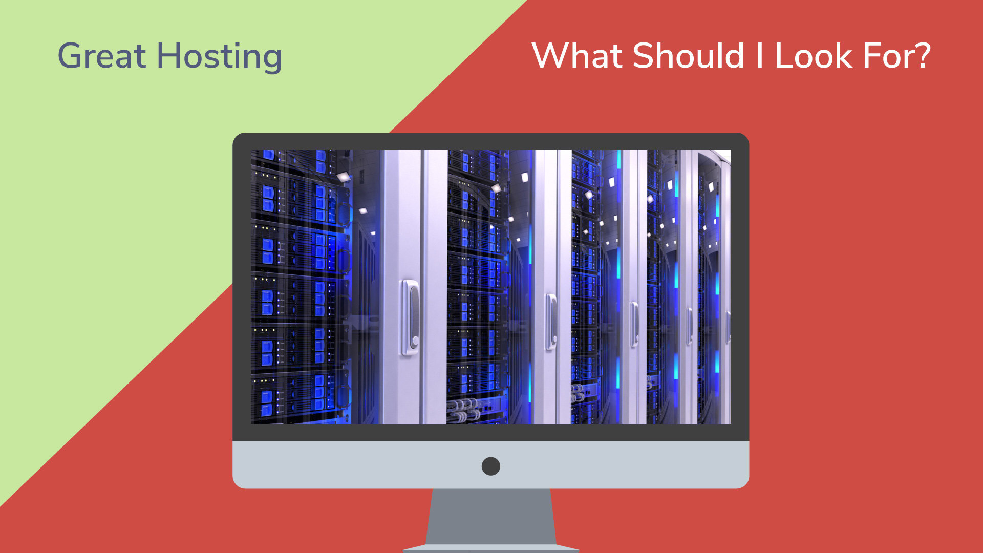 What to look for in a hosting company