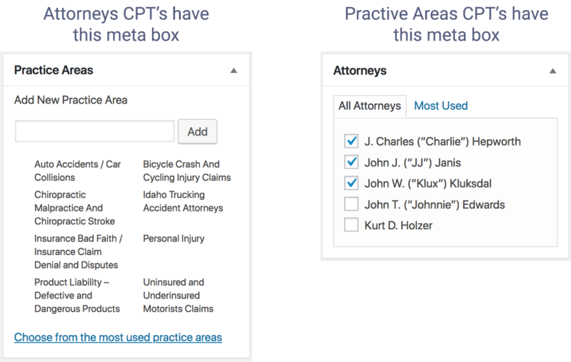 Cpt onomies custom post types as taxonomies on other cpts