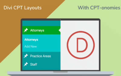 Creating Custom Post Types Layouts in Divi & Interlinking Them with CPT-onomies
