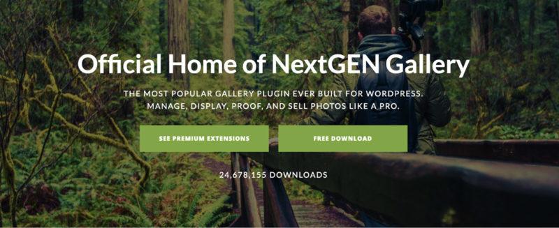 Nextgen gallery plugin banner