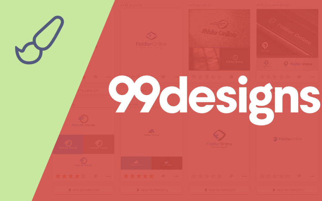 99designs logo process