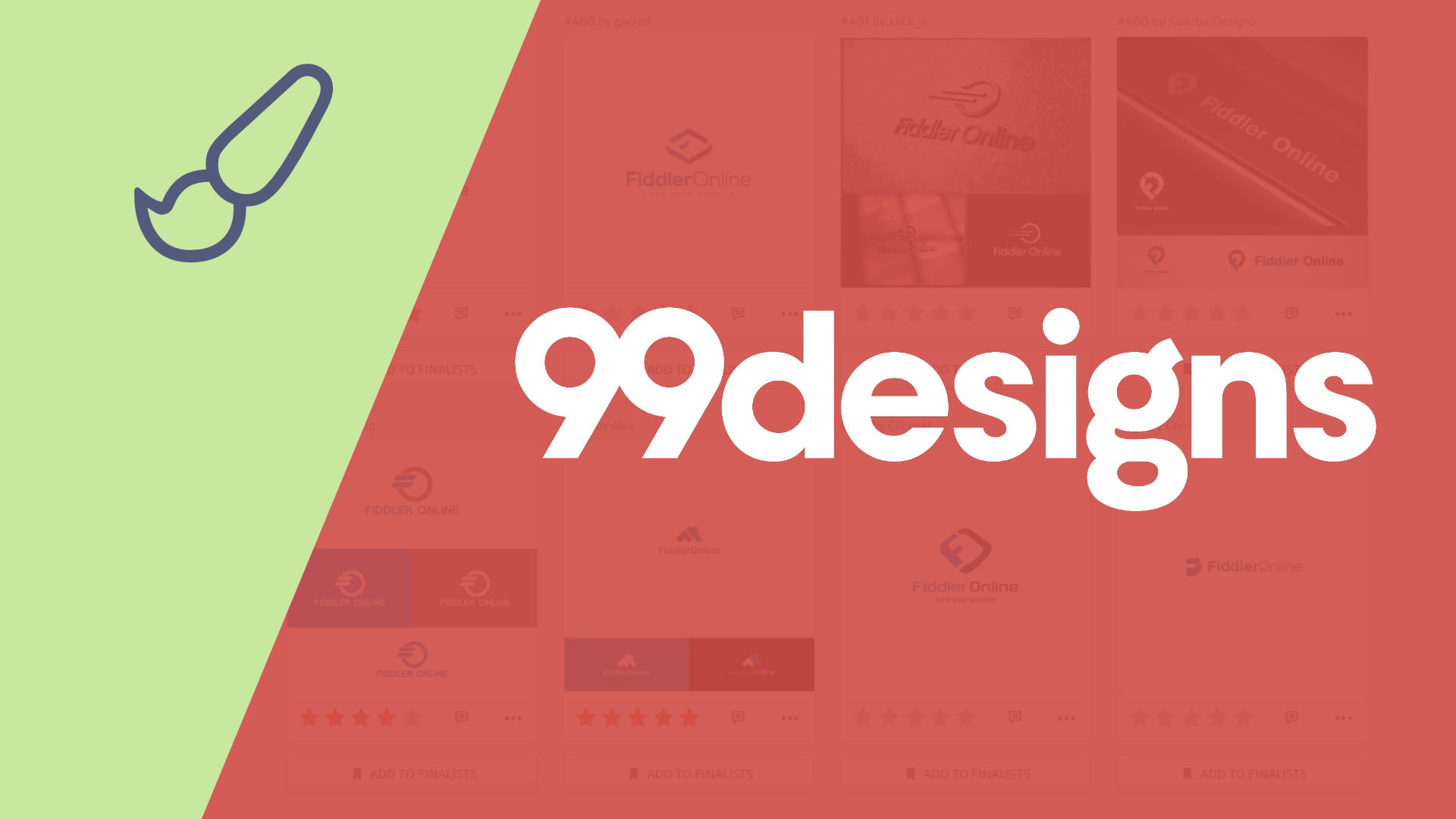 99designs logo process