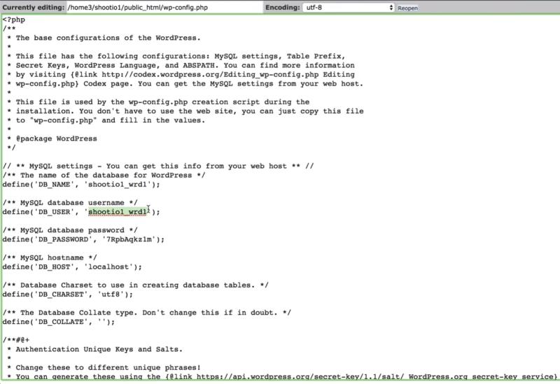 Determine how wordpress is setup 4