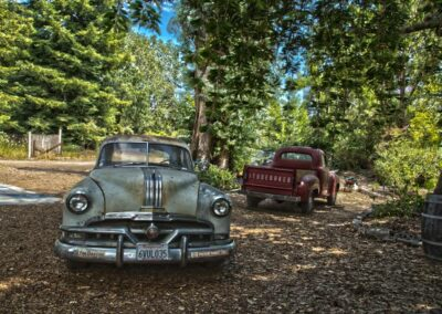 Antique cars russian river valley 2014